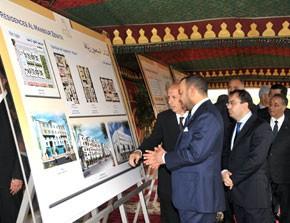 S.M. le Roi lance les travaux de la première tranche du projet «Résidences Al Mansour Zenata» dans le cadre de la ville nouvelle de Zenata