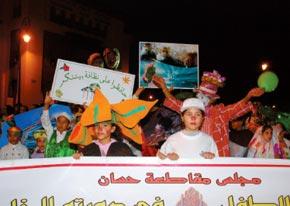 La 5e édition du festival de l'enfant aux couleurs vertes