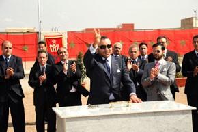 Le Souverain pose à Oujda la première pierre d'un centre pour enfants autistes et examine plusieurs projets de l'INDH