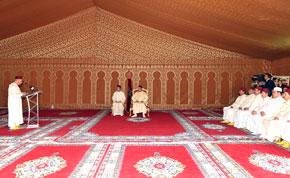 S.M. le Roi examine le programme national de réhabilitation des mosquées et salles de prière menaçant ruine, doté d'une enveloppe budgétaire de 2,7 milliards de DH