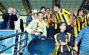 Les juniors du MAS, champions