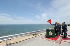 S.M. le Roi s'enquiert de l'état d'avancement du programme d'aménagement du site touristique de Marchica et du projet de dépollution de sa lagune