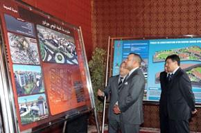 S.M. le Roi préside la cérémonie de signature de la convention relative au programme complémentaire de mise à niveau urbaine de la ville d'Al-Hoceïma, d'un coût de 340 MDH