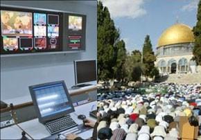Le soutien des médias arabes