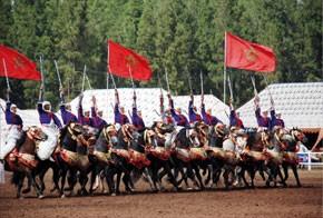 Une troupe de MRE prend part aux compétitions