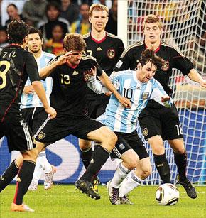 L'Allemagne corrige l'Argentine