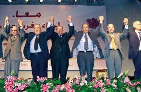 Les Usfpéistes reconnaissent ouvertement que leur parti a «connu d'une manière inquiétante, au cours des dernières années, une atténuation de son essor».