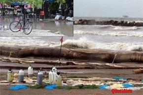 L'ouragan Alex s'essouffle