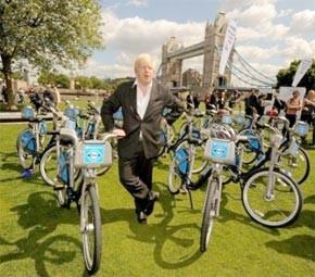 Londres se met à son tour aux vélos
