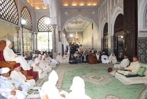 S.M. le Roi, Amir Al Mouminine, préside la première causerie religieuse du mois sacré de Ramadan