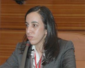 Mbarka Bouaida, présidente de la commission des Affaires étrangères à la Chambre des représentants. (Photo : www.coe.int)