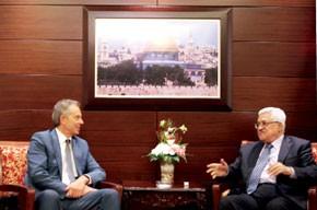 Abbas avertit Israël