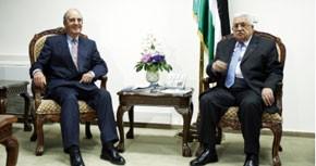 Abbas reçoit l'émissaire américain