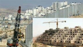 Le gel de la colonisation israélienne au cœur des discussions. (Photo : www.france-palestine.org)