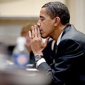 Obama  face aux questions de la presse