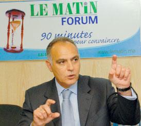 Salaheddine Mezouar, ministre de l'Economie et des Finances.