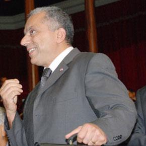 Abdellatif Maâzouz, ministre du Commerce extérieur.