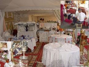 Exposition d'artisanat à Fès