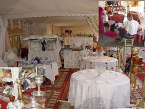 «Min'Yadina», confirme la richesse créative et l'innovation des produits de notre artisanat marocain, par l'exposition des entreprises de ce secteur. (Photo :  kartouch)