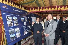 S.M. le Roi lance les travaux de réalisation de la plate-forme du tramway de Casablanca, d'un coût global de 6,4 milliards de DH