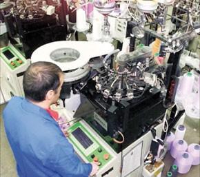 Les industries manufacturières au ralenti