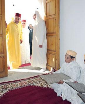 S.M. le Roi, Amir Al Mouminine, inaugure une mosquée dans le cercle de Tissa, d'un coût de 4,2 MDH