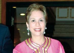 Chrifa Lalla Joumala Alaoui offre une réception à la communauté marocaine établie au Royaume-Uni