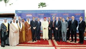 S.M. le Roi Mohammed VI préside la cérémonie de signature de six conventions relatives au projet de TGV Tanger-Casablanca