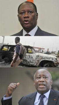 Ouattara appelle à la force pour faire partir Gbagbo