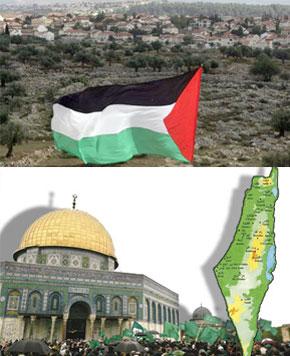 «Nécessité d'exiger un retrait unilatéral israélien sur les  lignes d'avant le 30 septembre 2002 et établir les modalités d'une gestion administrative paritaire de la vieille ville d'Al-Qods».