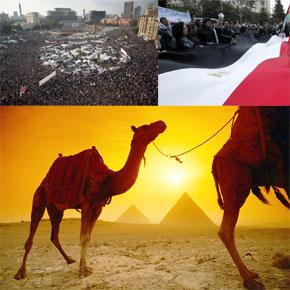 «Mais si l'Égypte reconstruit une stabilité politique plus ou moins rapidement, son économie suivra». (Photo : AFP)