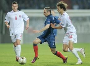 La France bat le Luxembourg