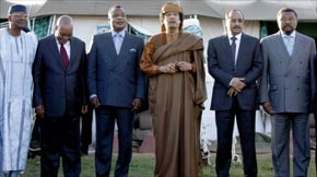 Kadhafi accepte les propositions africaines