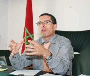 Mohamed Ameur,  ministre délégué auprès du Premier ministre, chargé de la Communauté marocaine résidant à l'étranger.