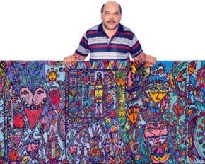 La plus grande toile réalisée par un Marocain