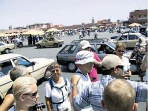 Fléchissement du tourisme en mai