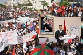 Cherkaoui a jugé que «le référendum s'est déroulé dans un climat serein qui a montré le degré d'interaction entre le peuple et le contenu du projet de constitution». (Photo : MAP-AFP)