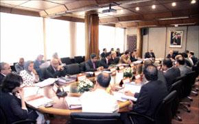 Tenue de la session d'août 2011 du conseil d'administration de la MAP