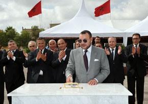 S.M. le Roi examine le projet de construction de trois salles couvertes omnisports à Selouane, Zeghanghane et Al-Aroui, d'un coût global de 36 millions de DH