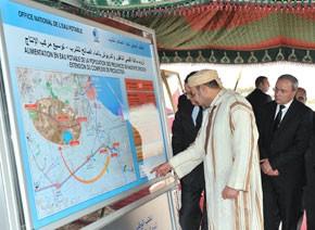 S.M. le Roi examine plusieurs projets d'eau potable dans les provinces de Nador et Driouch, d'un coût global de 230 MDH