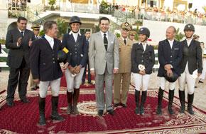 Son Altesse Royale le Prince Moulay Rachid préside la clôture de la première étape