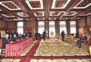 S.M. le Roi préside la cérémonie  de signature d'une convention  relative au développement de la RAM