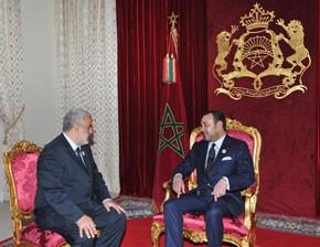 S.M. le Roi nomme Abdelilah Benkirane chef du gouvernement