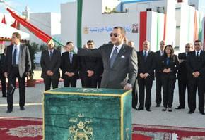 S.M. le Roi examine le programme complémentaire de mise à niveau urbaine de Fnideq, doté d'une enveloppe budgétaire de 300 MDH