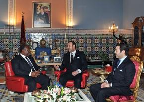 Entretiens entre Sa Majesté le Roi Mohammed VI et le Président gabonais