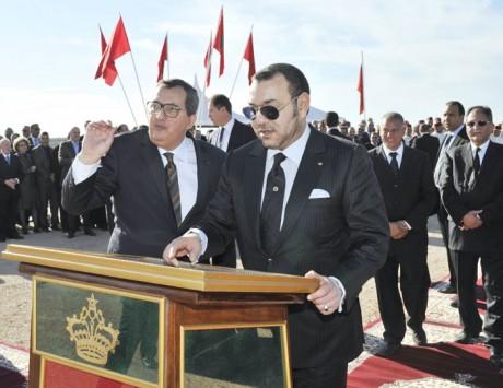 S.M. le Roi Mohammed VI examine le programme de renforcement et de sécurisation de l'alimentation en eau potable du pôle Fès-Meknès, d'un coût global de plus de 2,6 MMDH