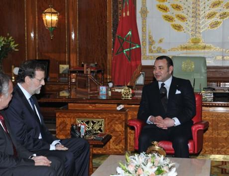 S.M. le Roi Mohammed VI reçoit le président du gouvernement espagnol