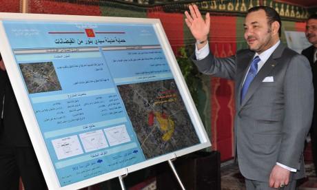 S.M. le Roi examine à Sidi Bennour les projets de développement agricole dans la région de Doukkala-Abda, d'un investissement total de 5,4 MMDH