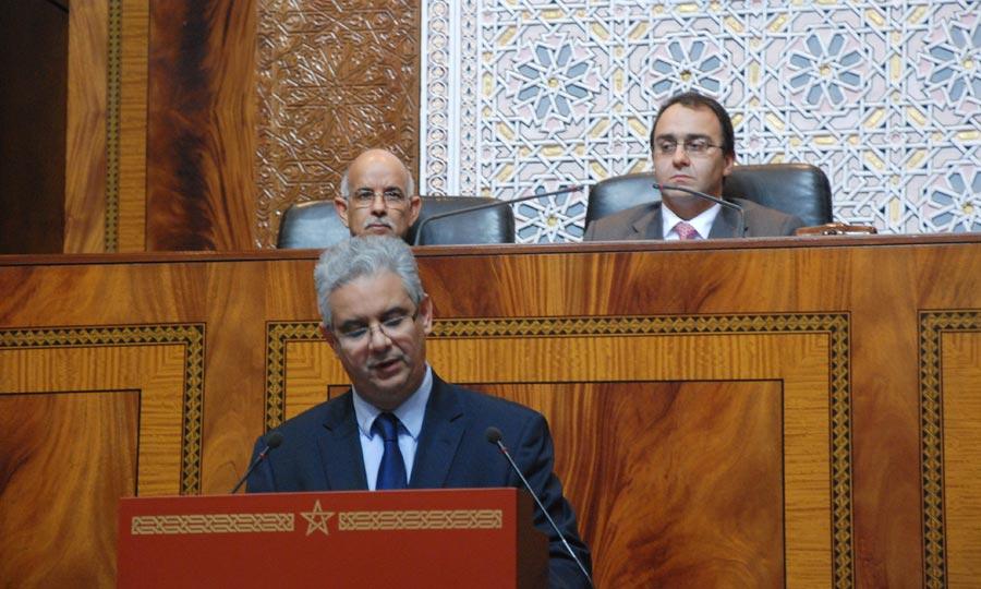 Le projet présenté en plénière au Parlement