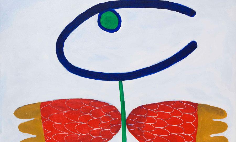 Derrière la simplicité des œuvres de Ouazzani se profilent une recherche et une démarche bien pensées où l'improvisation n'a pas de place.